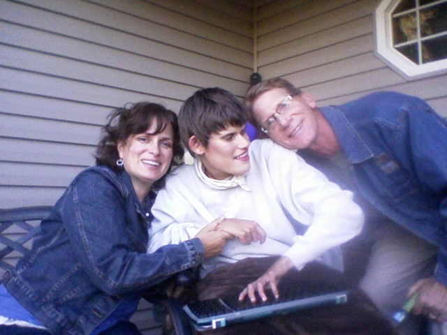 Lois, Karly, and Gregg Swope