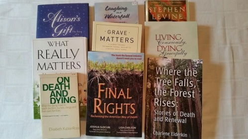 Books about death: they're made of dead trees!