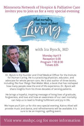 Ira Byock invitation